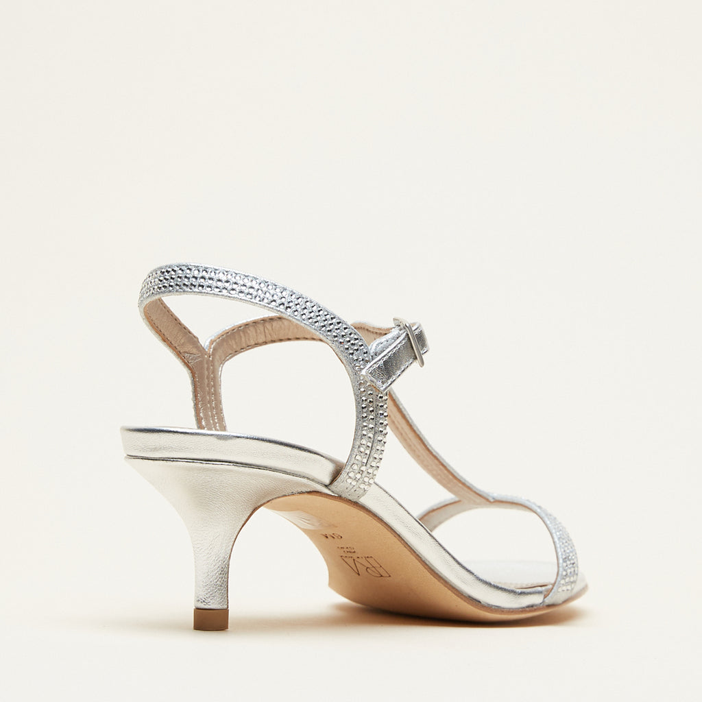 Fable (Silver / Metallic Suede)