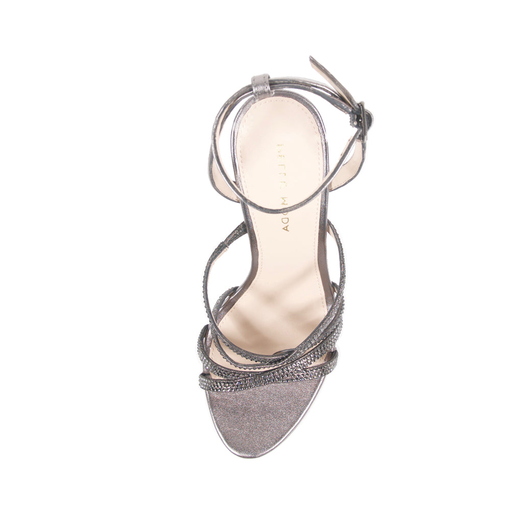 OAK (Pewter / Metallic Kid Suede / Metallic Nappa) 40% Off
