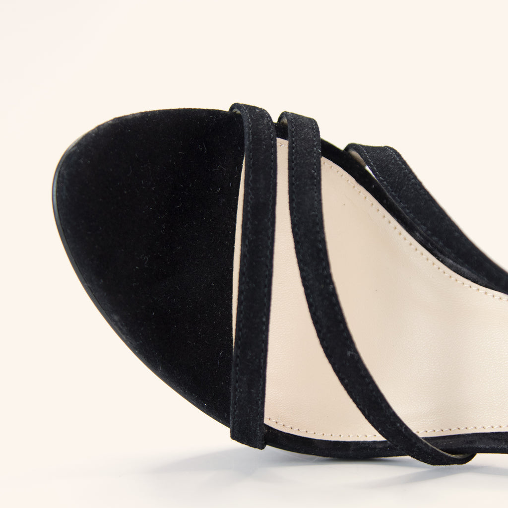 Olya (Black / Kid Suede)