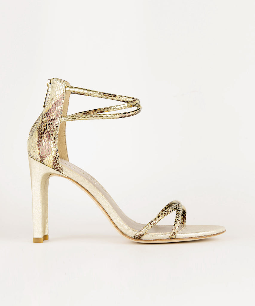 Pelle Moda - Cruz Heel - Gold Multi