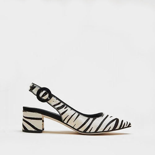 Pelle Moda - Autumn 2 (Zebra Print / Calf Hair)