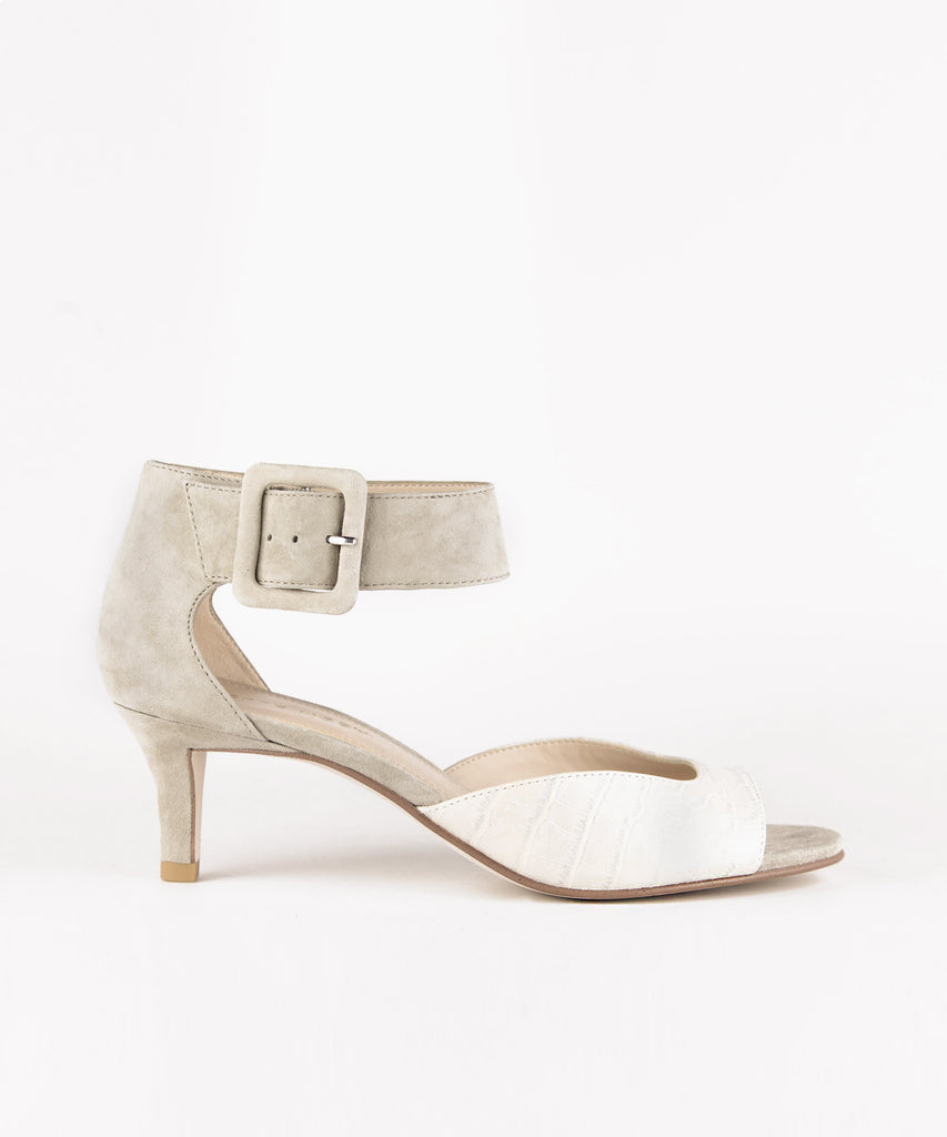 Pelle Moda - Berlin Low Heel - Bone