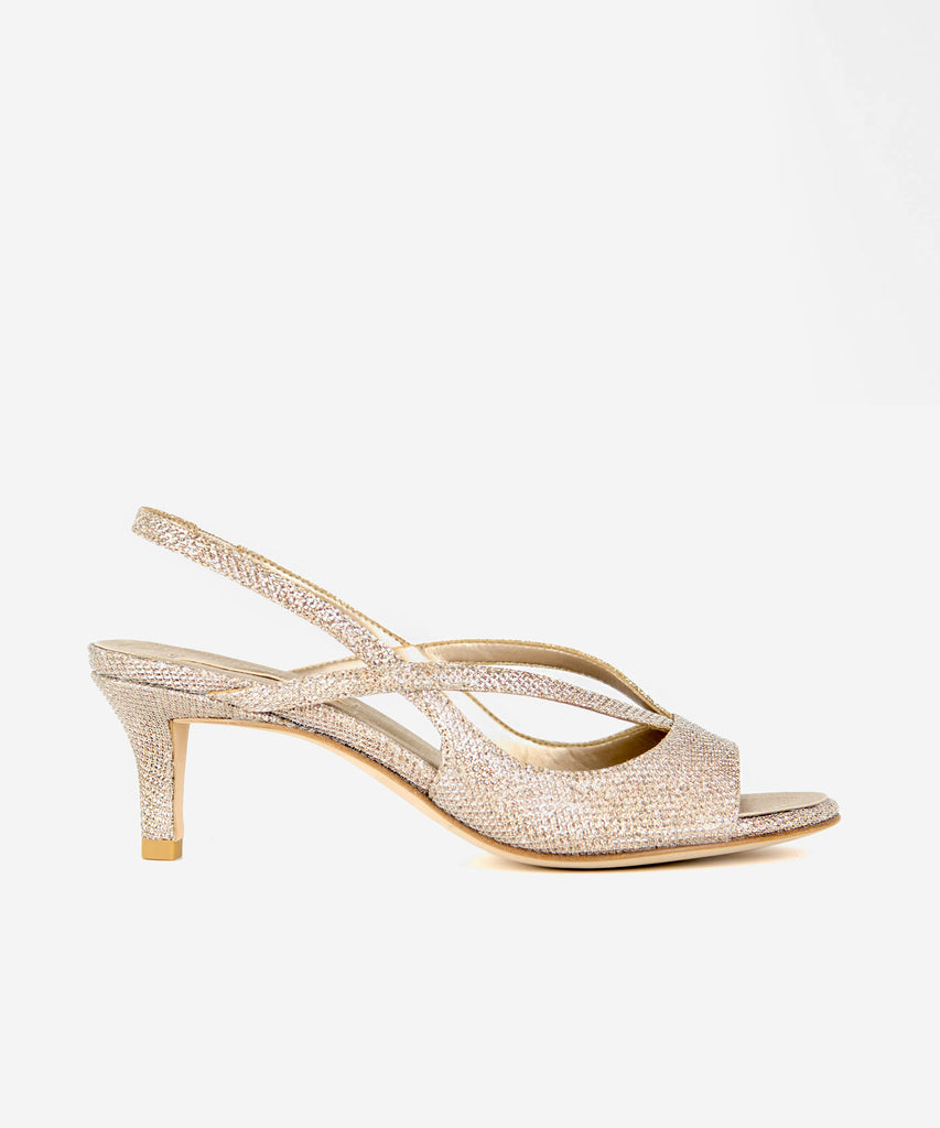 Pelle Moda - Biel Low Heel - Gold