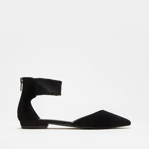 Pelle Moda - Dale (Black / Kid Suede / Stretch Mesh)