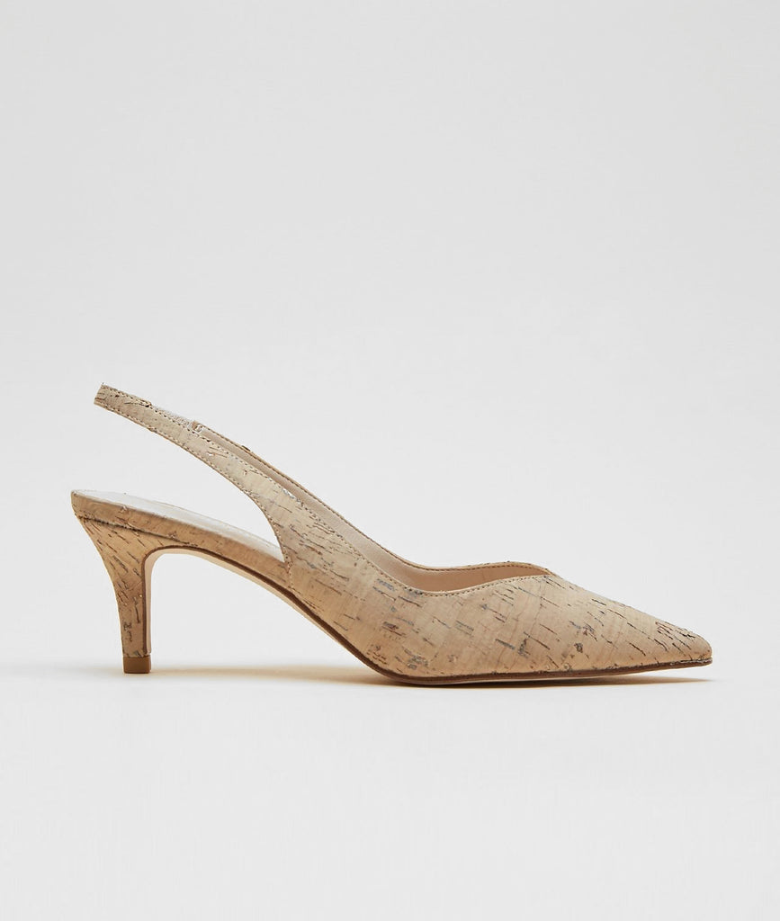 Pelle Moda - Kerstin (White / Washed Cork)