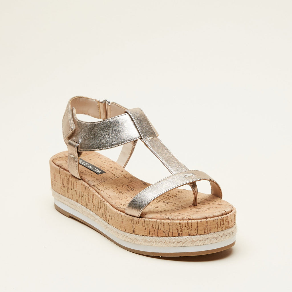Pilar (Platinum Gold / Metallic Nappa Leather)