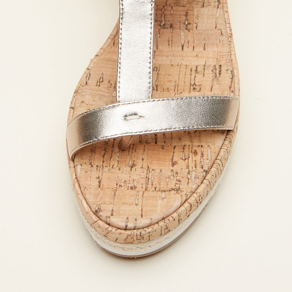 Pilar (Platinum Gold / Metallic Nappa Leather) 70% Off