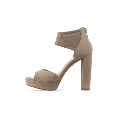 Ilsa ( Platinum Gold / Metallic Kid Suede)