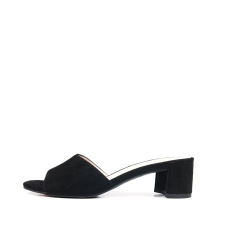 Grace (Black / Kid Suede)