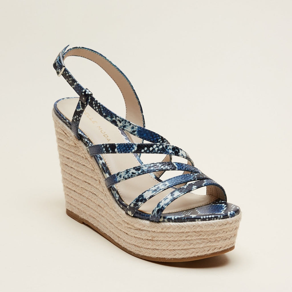 Ritter 2 (Indigo/ Embossed Leather Snakeskin) 50% Off