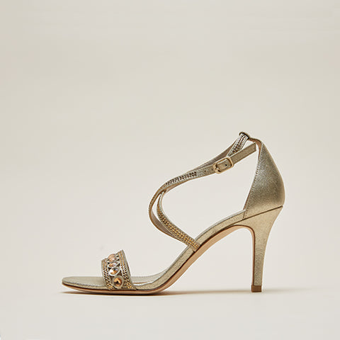 Rory (Silver / Metallic  Suede) 30% Off
