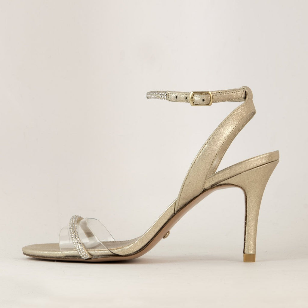 Roseli (Platinum Gold/ Metallic Suede/Vinyl) 30% Off