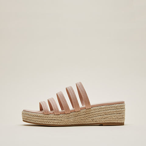 Bonnie 6 (Sand / Kid Suede & Linen) 50% Off