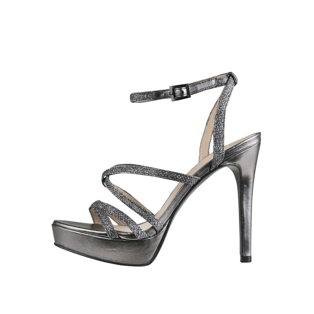 OAK (Pewter / Metallic Textile) - Pellemoda.us  - 1