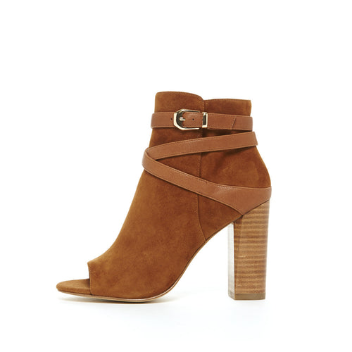 Adrina (Cognac / Kid Suede / Tumbled Leather) 20% OFF