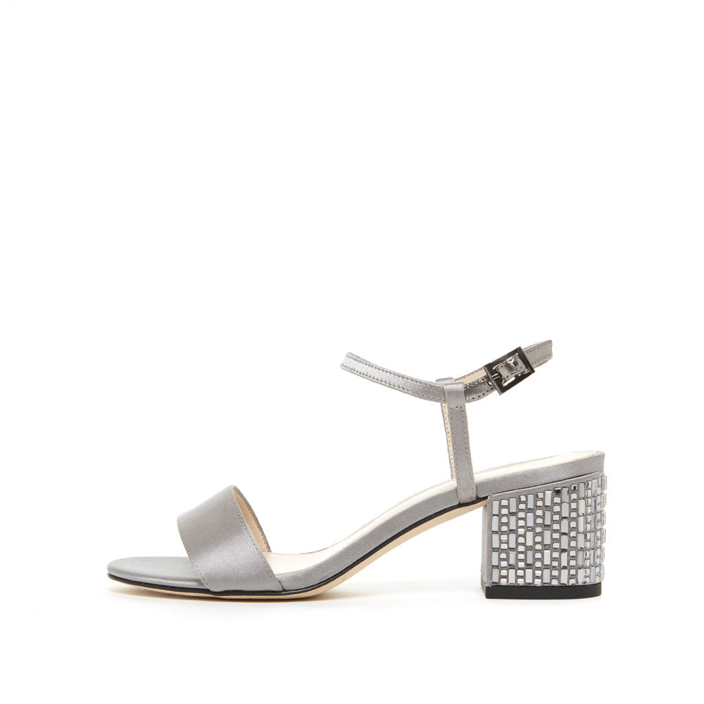 Alicia (Pewter / Satin) 40% Off
