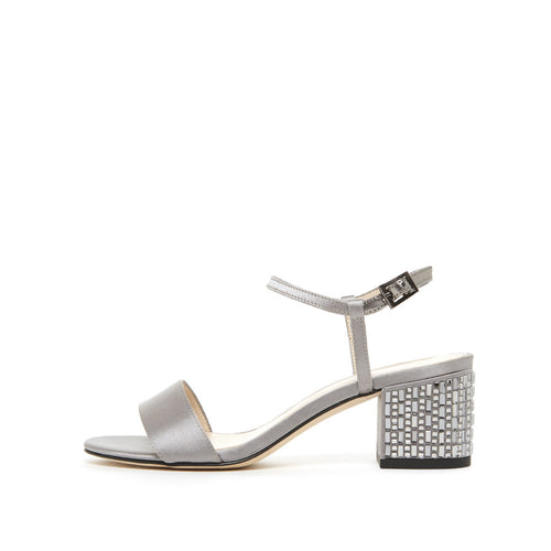 Alicia (Pewter / Satin) 50% Off