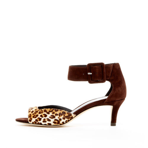 Berlin (Leopard / Calf Hair) 30% Off