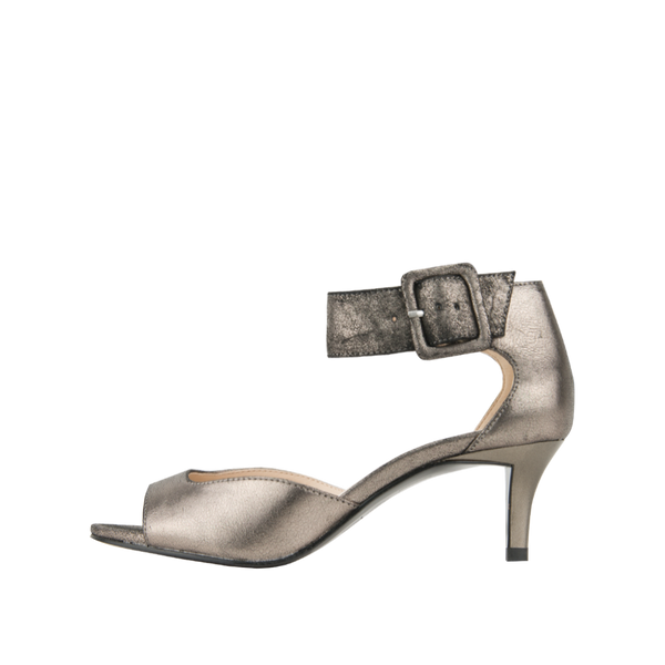 Berlin  (Pewter / Metallic Kid Suede) - Pellemoda.us  - 1