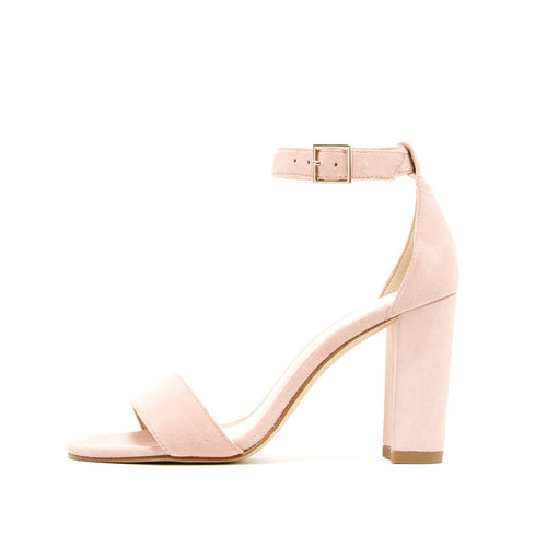 Bonnie  (Pale Pink / Kid Suede) - Pellemoda.us  - 1