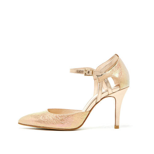 Chandra (Beige / Leather)