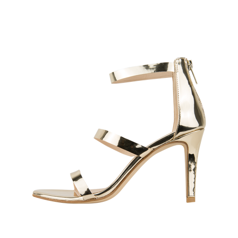 Dalia (Platinum Gold / Mirror Leather) - 60% Off - Pellemoda.us  - 1