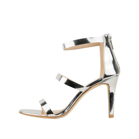 Dalia (Silver / Mirror Leather) - 60% Off - Pellemoda.us  - 1