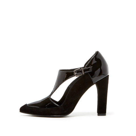 Eve (Black / Patent Leather / Suede)