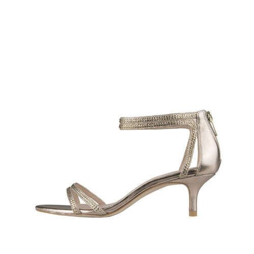 Fillis (Platinum Gold Metallic Kid Suede / Kid Nappa Leather) - Pellemoda.us  - 1