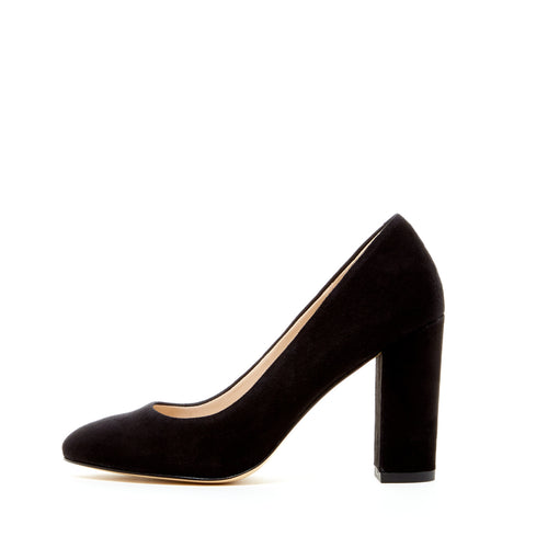 Franki (Black / Kid Suede)