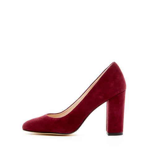 Franki (Dark Cherry / Kid Suede)