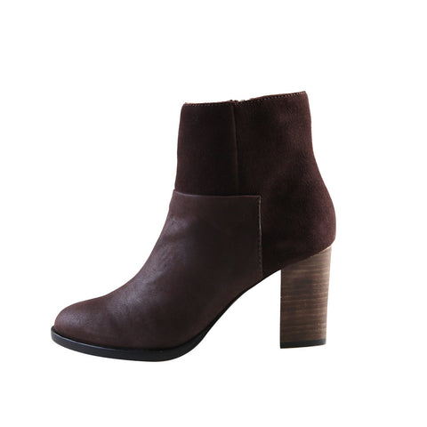 Ida (Dark Brown / Leather / Suede) - Pellemoda.us  - 1