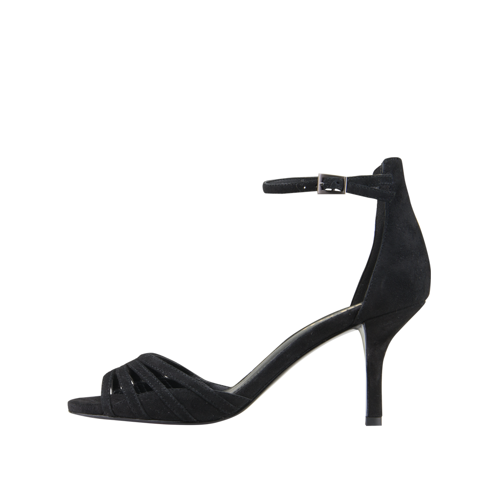 *Isabel 2 (Black / Kid Suede) - Pellemoda.us  - 1