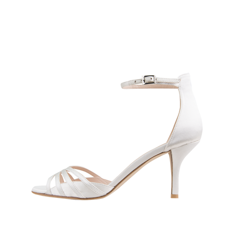 Isabel 2 (White / Silk) - Pellemoda.us  - 1