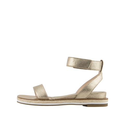 Janis (Platinum Gold / Metallic Kid Suede) - 60% Off - Pellemoda.us  - 1