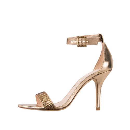 Kacey (Platinum Gold Silk / Metallic Kid Nappa) - Pellemoda.us  - 1
