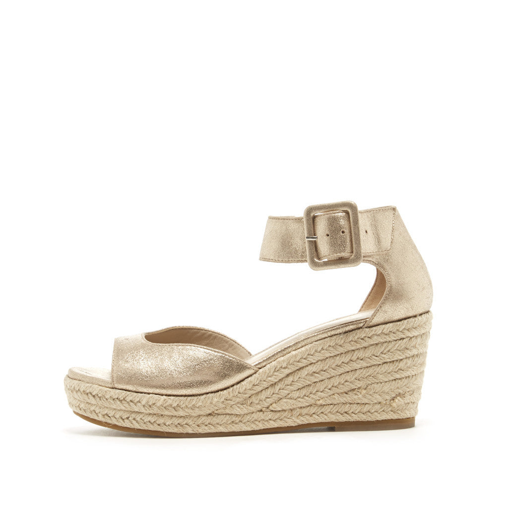 Pelle Moda - Kauai - Gold Wedges