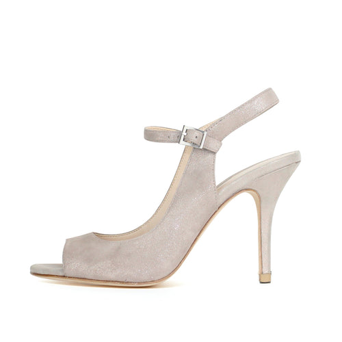 Kinsey (Dark Taupe/ Shimmer Suede) 40% Off