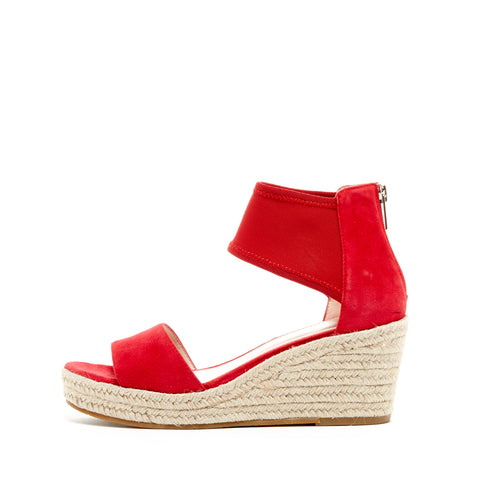 Pelle Moda - Kona - Lipstick Red Wedges