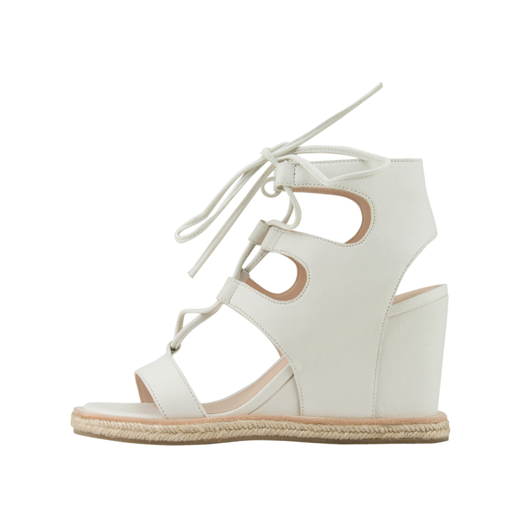Kyra (White / Tumbled Leather) - 60% Off - Pellemoda.us  - 1