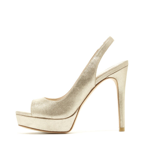 Oana (Platinum Gold / Metallic Kid Suede) - Pellemoda.us  - 1