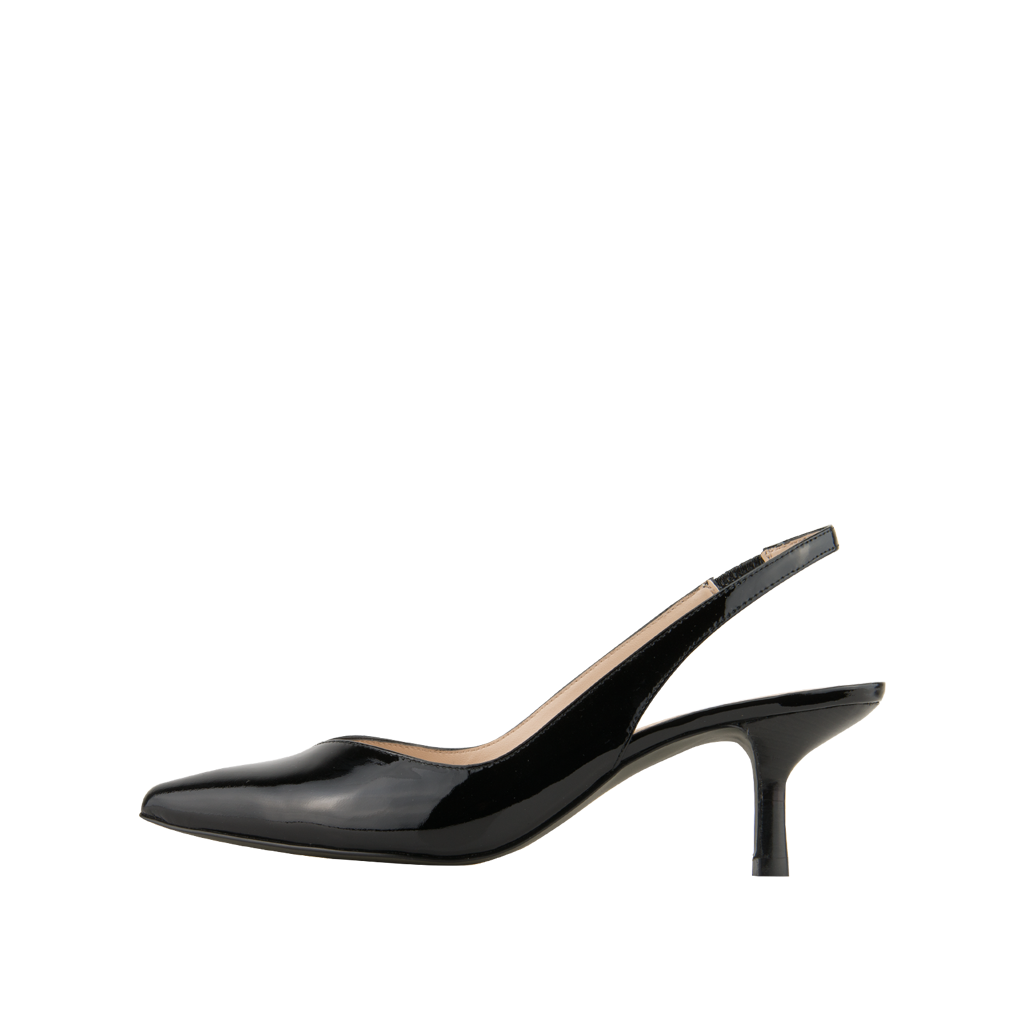 Oasis (Black / Patent Leather) - Pellemoda.us  - 1