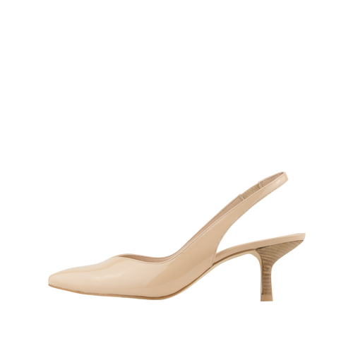 Oasis (Nude / Patent Leather) - Pellemoda.us  - 1