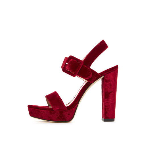 Paloma (Bordo / Velvet) 30% Off