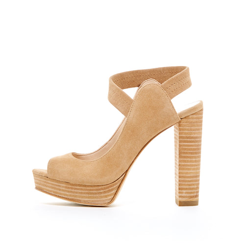 Penelope (Latte / Kid Suede) 70% Off