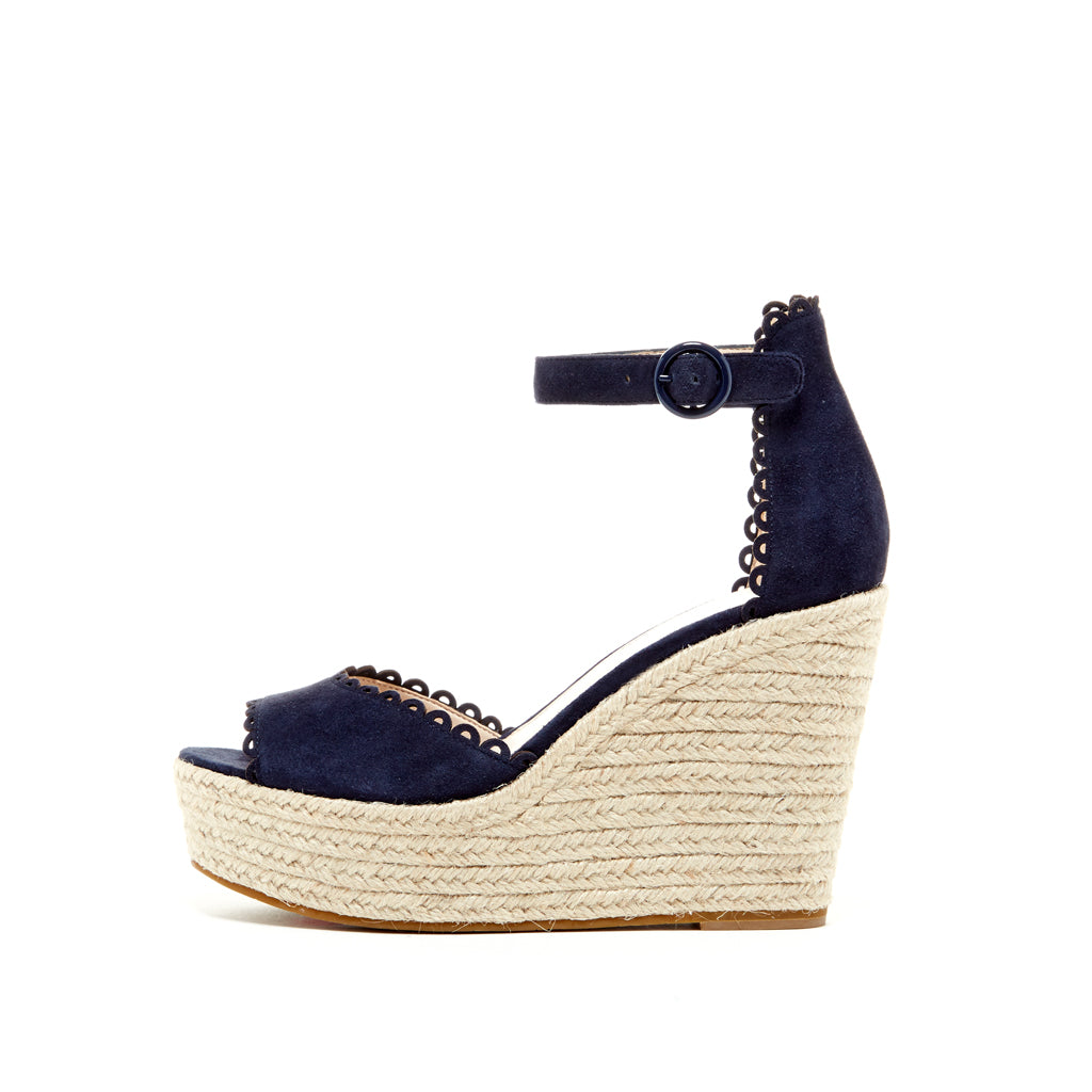 Pelle Moda - Raine - Midnight Blue Wedges