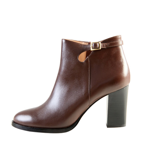 Riki (Dark Brown / Leather)