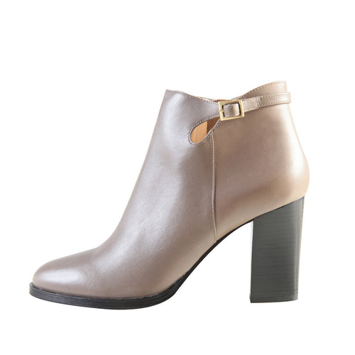 Riki (Grey / Leather) - Pellemoda.us  - 1