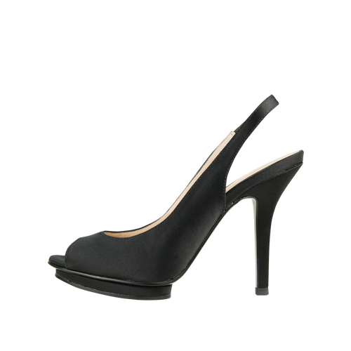 Rivka (Black / Silk) - Pellemoda.us  - 1