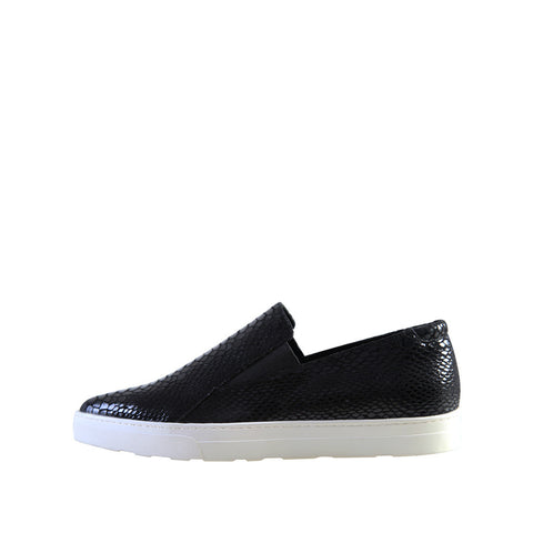 Simon (Black / Snakeskin Leather) - Pellemoda.us  - 1